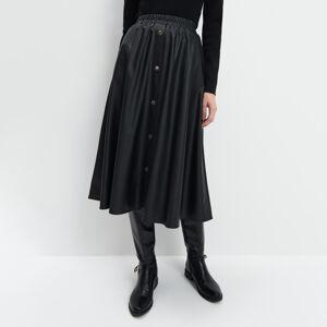 Mohito - Rozšířená midi sukně - Černý