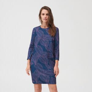 Mohito - Šaty s květinovým vzorem - Modrá