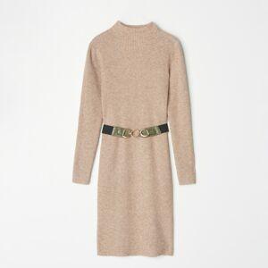 Mohito - Svetrové šaty - Béžová
