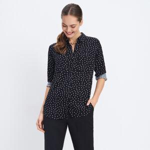 Mohito - Košile zviskózy Eco Aware - Černý