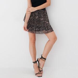 Mohito - Puntíkovaná sukně - Hnědá