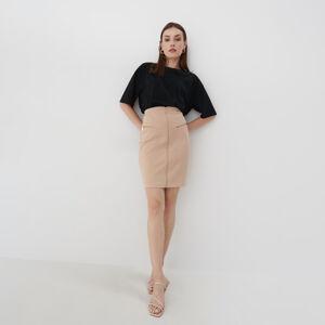Mohito - Pouzdrová sukně - Krémová