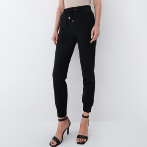 Mohito - Kalhoty joggers - Černý