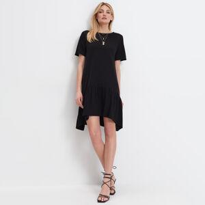 Mohito - Asymetrické midi šaty - Černý