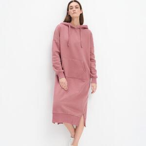 Mohito - Teplákové šaty Eco Aware - Růžová