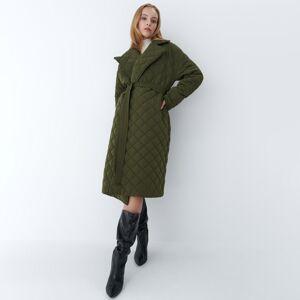 Mohito - Prošívaný kabát Eco Aware - Khaki