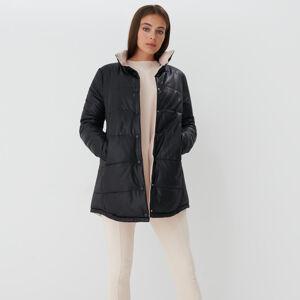 Mohito - Oboustranný kabát Eco Aware - Černý