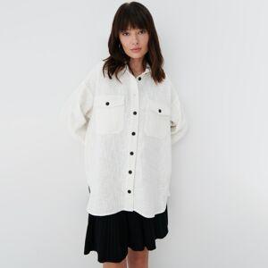 Mohito - Košile volného střihu - Krémová
