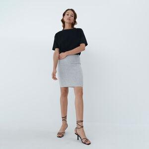 Mohito - Přiléhavá tubová sukně - Světle šedá