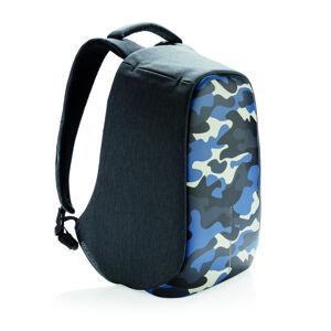 """Městský bezpečnostní batoh, Bobby Compact Print, 14"""", XD Design, camouflage blue"""