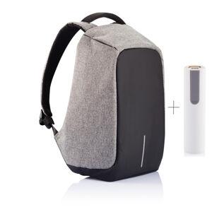 """Bezpečnostní batoh na notebook Bobby XL, 17"""", XD Design, šedý"""