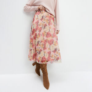 Mohito - Skládaná sukně - Růžová