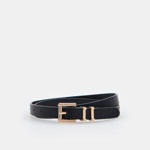 Mohito - Úzký pásek s přezkou - Černý