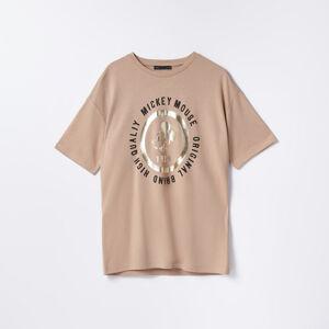Mohito - Dámské tričko - Béžová