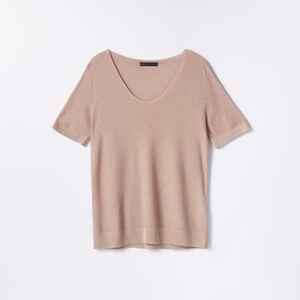 Mohito - Úpletové tričko - Růžová