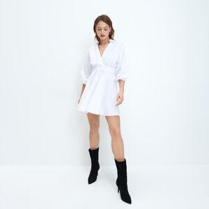 Mohito - Košilové šaty - Bílá