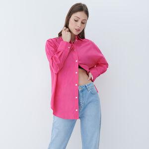 Mohito - Neonová košile - Růžová