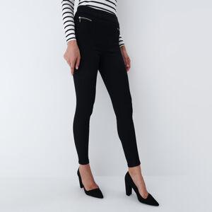 Mohito - Kalhoty se zipy - Černý