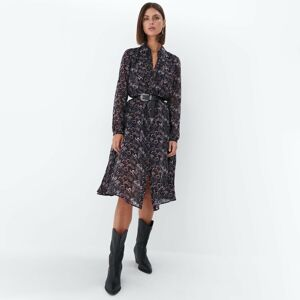 Mohito - Šaty s volánem - Černý