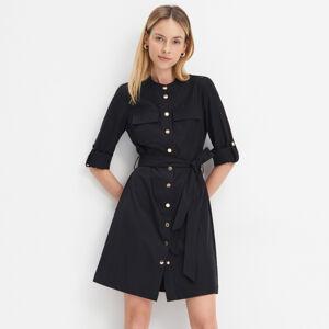 Mohito - Košilové šaty se zavazováním - Černý