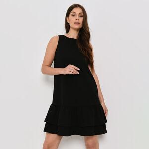 Mohito - Trapézové šaty basic Eco Aware - Černý