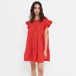 Mohito - Šaty s volánem Eco Aware - Červená