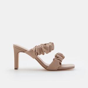 Mohito - Pantofle na podpatku - Růžová