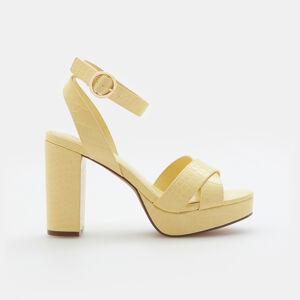Mohito - Sandály na platformě - Béžová