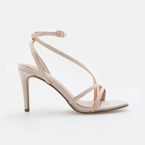 Mohito - Sandály na podpatku - Růžová
