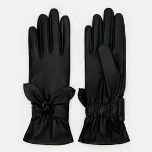Mohito - Klasické kožené rukavice - Černý