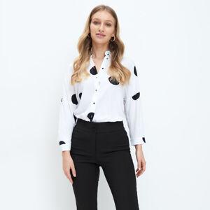 Mohito - Košile s tečkami - Bílá