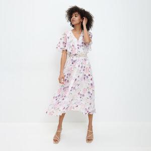 Mohito - Květované midi šaty - Vícebarevná