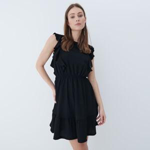 Mohito - Šaty s odhalenými zády - Černý