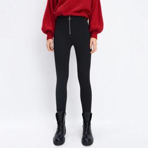 Mohito - Kalhoty straight fit - Černý
