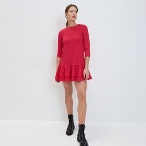 Mohito - Šaty s volánem - Červená