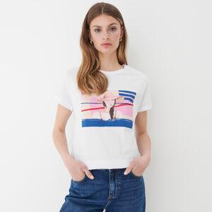 Mohito - Bavlněné tričko - Bílá