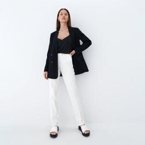 Mohito - Dámské kalhoty - Krémová
