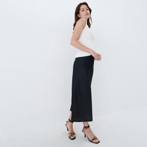Mohito - Saténová sukně - Černý