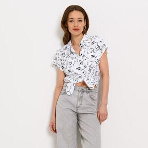 Mohito - Košile zviskózy Eco Aware - Bílá