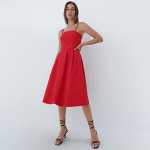 Mohito - Midi šaty - Červená