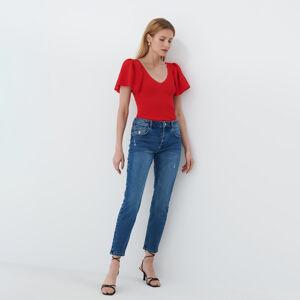Mohito - Úpletové tričko - Červená