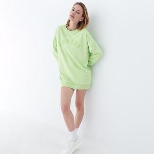 Mohito - Mikinové šaty - Zelená