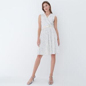 Mohito - Zavinovací šaty - Bílá