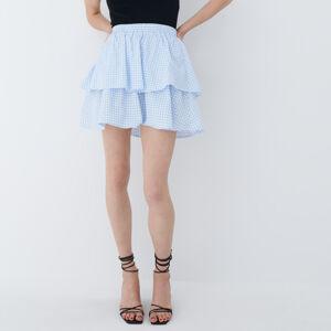 Mohito - Mini sukně svolánovým lemem - Modrá