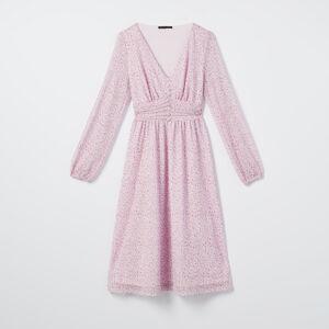 Mohito - Puntíkované šaty - Růžová