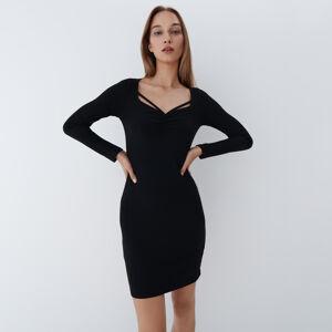 Mohito - Přiléhavé šaty - Černý