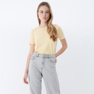 Mohito - Úpletové tričko - Žlutá