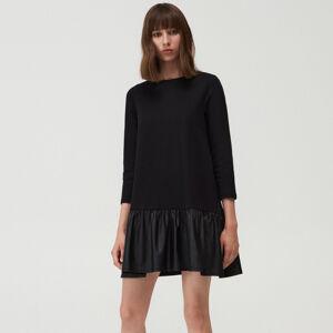 Mohito - Šaty s volánky - Černý