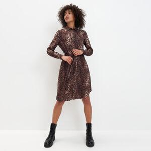 Mohito - Šaty se zvířecím potiskem Eco Aware - Béžová