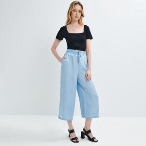 Mohito - Kalhoty culottes Eco Aware - Modrá